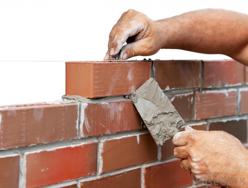Brick Fence Construction : Brick by robynbministries